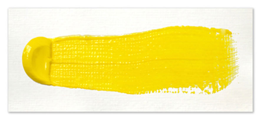 Langridge-Handmade-Oil-Colour-Arylide-Yellow-Paintout