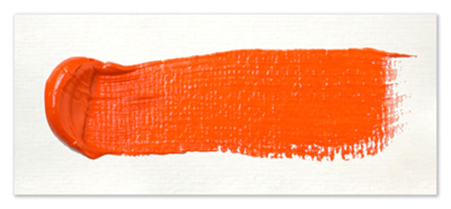 Langridge-Handmade-Oil-Colour-Cadmium-Orange-Paintout