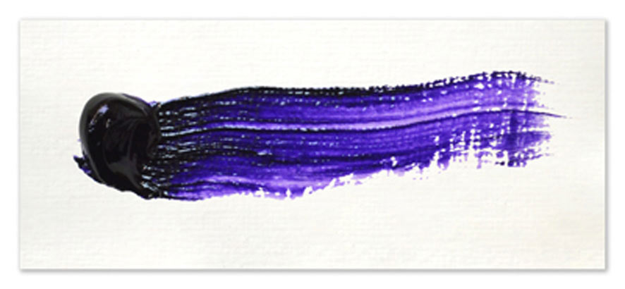 Langridge-Handmade-Oil-Colour-Diox-Purple-Paintout