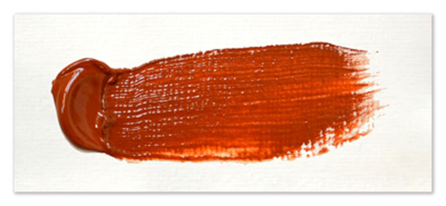 Langridge-Handmade-Oil-Colour-Mars-Orange-Paintout