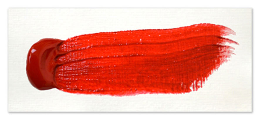 Langridge-Handmade-Oil-Colour-Naphthol-Red-Paintout