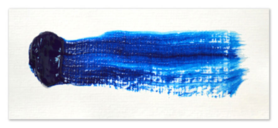 Langridge-Handmade-Oil-Colour-Phthalo-Blue-Paintout