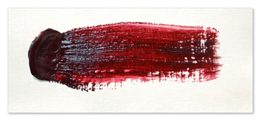 Langridge-Handmade-Oil-Colour-Quinacridone-Crimson-Paintout