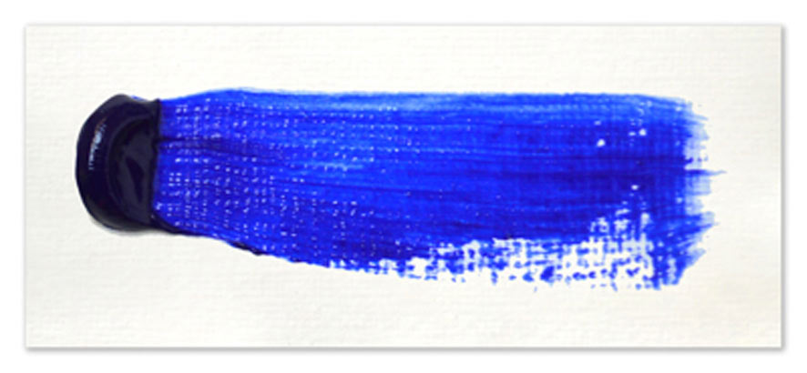 Langridge-Handmade-Oil-Colour-Ultramarine-Blue-Paintout